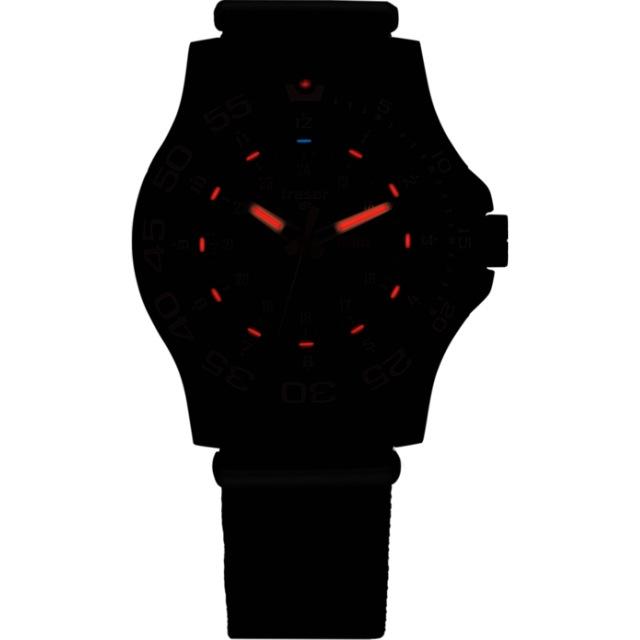 TRASER(トレーサー)TYPE-6 MIL-G Elite Red ラバーストラップ [P66][100378][中田商店]【送料無料】
