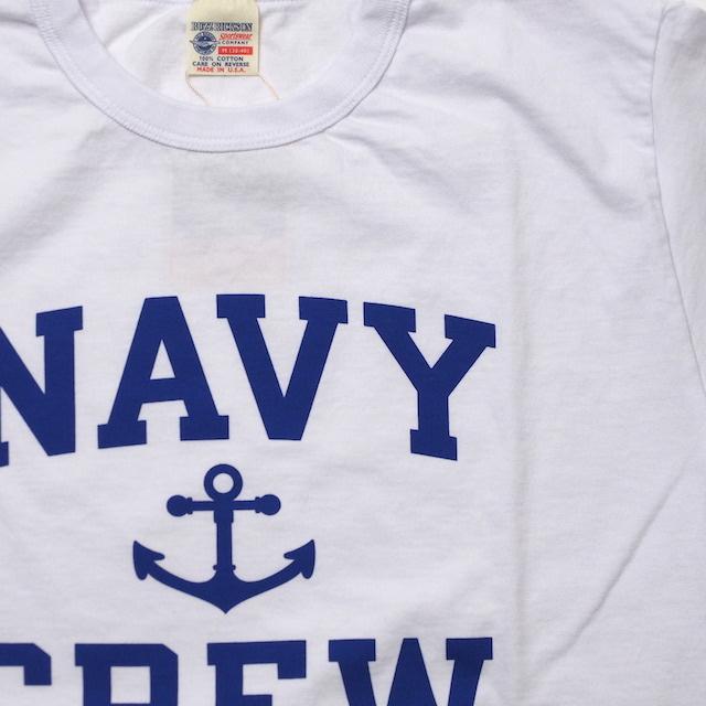 BUZZ RICKSON'S(バズリクソン) S/S T-SHIRT NAVY CREW Tシャツ [BR78449]