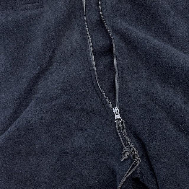 US(米軍放出品)フリース オーバーオール ブラック