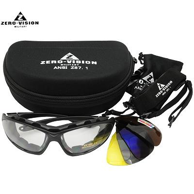 ZERO Vision(ゼロビジョン)[ZV-300] アイシールド/ゴーグル 5レンズセット [レンズ交換可能][アジアンフィット][人気品番]