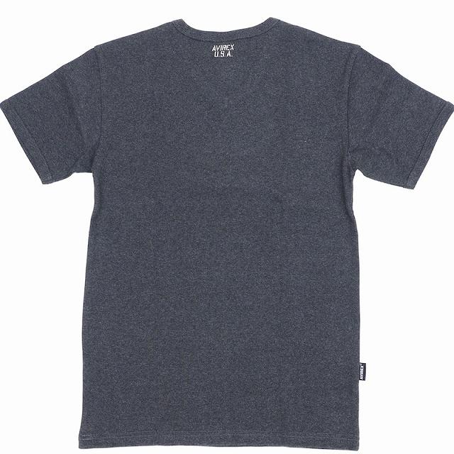 AVIREX(アヴィレックス)DAILY Vネック Tシャツ [4色]