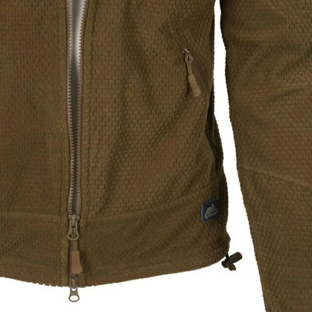 Helikon-Tex(ヘリコンテックス)ALPHA TACTICAL Jacket Grid Fleece スタンドアップカラー グリッドフリース [3色]【中田商店】
