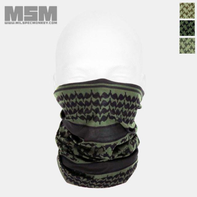 MSM(ミルスペックモンキー)マルチラップ Shemagh プリント [3色]