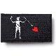 【ミリタリーパッチ】Black Beard Jolly Roger FLAG PATCH 黒髭 ジョリーロジャー 海賊旗 パッチ [フック付き]