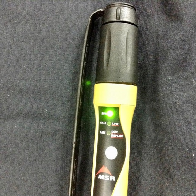 US(米軍放出品)MSR MIOX Purifier [浄水器][マイオックス]