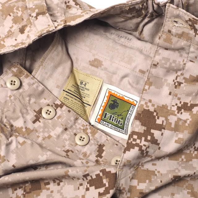 US(米軍放出品)COMBAT ENSENBLE TROUSER コンバットパンツ デザートマーパット[FROG]