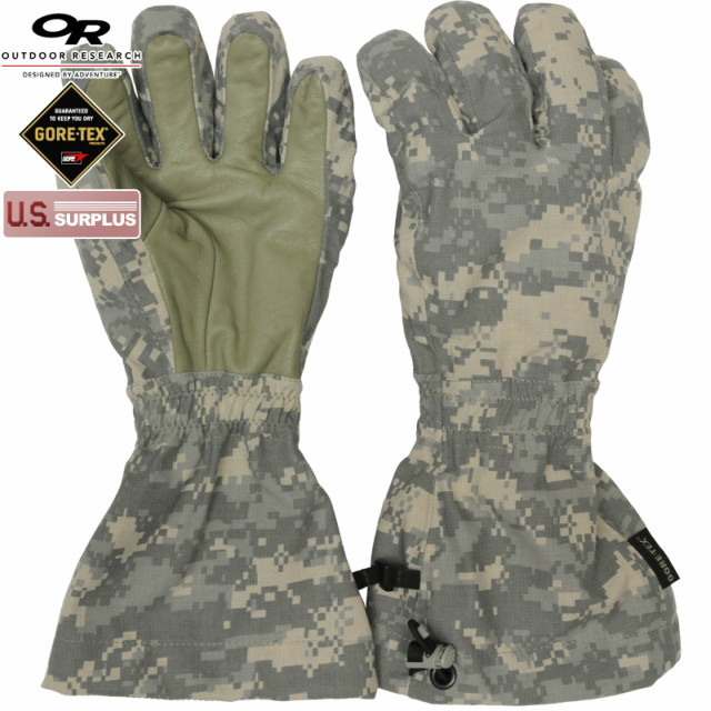 US(米軍放出品)OR Tactical(アウトドアリサーチ タクティカル)Aviator Firebrand Gloves Gore-Tex FR ACU アビエーター ファイアブランド グローブ ゴアテックス