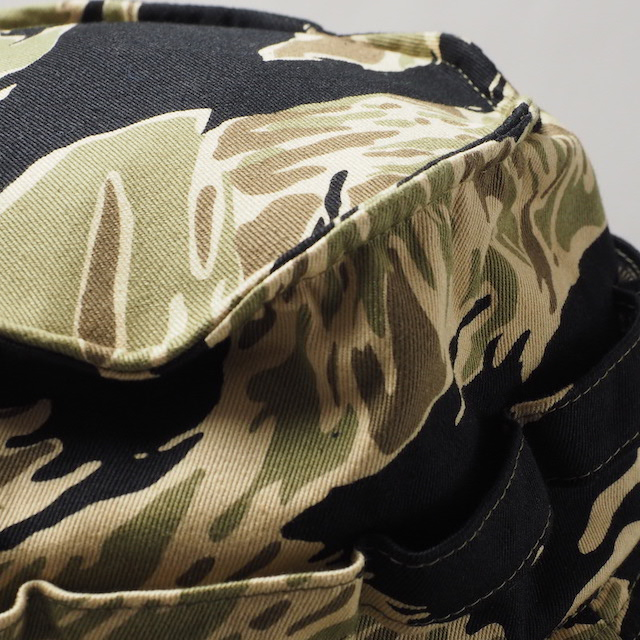 BUZZ RICKSON'S(バズリクソン)GOLD TIGER CAMOUFLAGE BONNIE HAT [BR02621]