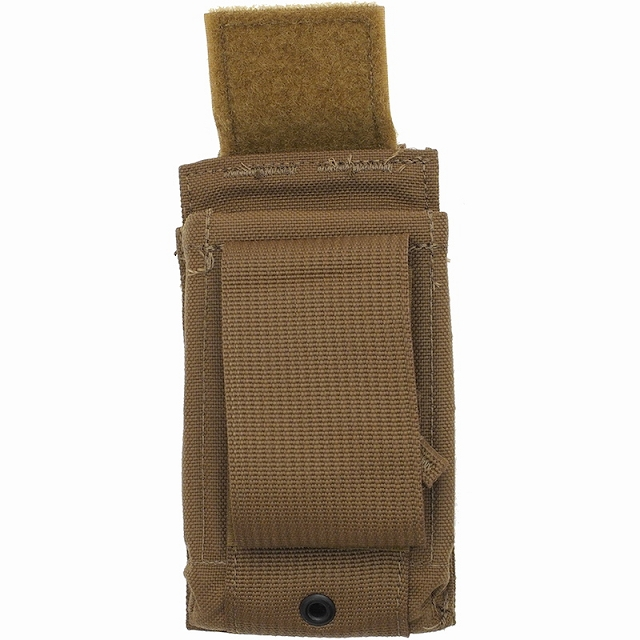 US(米軍放出品)M16/M4 スピードリロードポーチ [Coyote][Speed Reload Pouch][MOLLEスタイル]