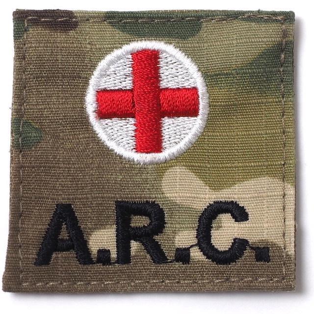 【ミリタリーパッチ】A.R.C. スクエアパッチ 四角形 OCP [フック付き]