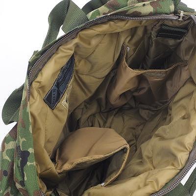 J-TECH(ジェイテック)JAUNTY-34 新型ヘルメットバッグ [Black、Foliage Green、Multicam、陸上自衛隊迷彩][ショルダーストラップ付き]【中田商店】