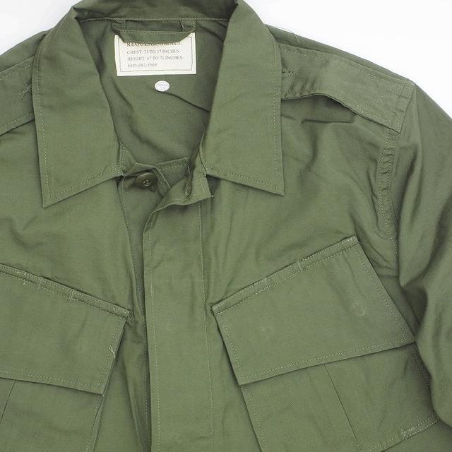SESSLER(セスラー)中期型 ベトナム ジャングル ファティーグ ジャケット OD【中田商店】