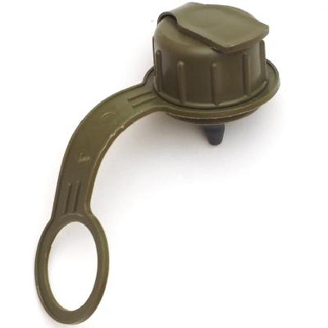 US(米軍放出品)1QT キャンティーン スペアキャップ OD ガスマスク対応