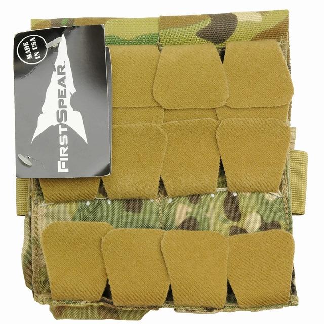【クリアランスSALE】First Spear(ファーストスピア)[6/12] M-4 Double Magazine Pocket [MultiCam][ライトウエイト]