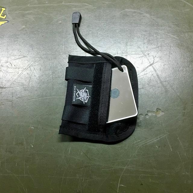 MILITARY (ミリタリー) サバイバルシグナルミラー2x3ポーチセット [SURVIVAL MIRROR&POUCH][Black]