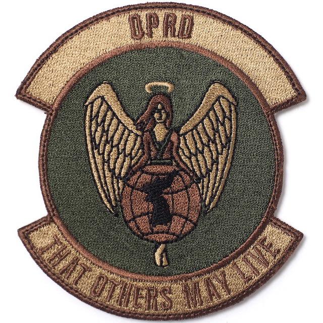 【ミリタリーパッチ】OPRD パッチ スパイスブラウン OCP [ベルクロ付き]