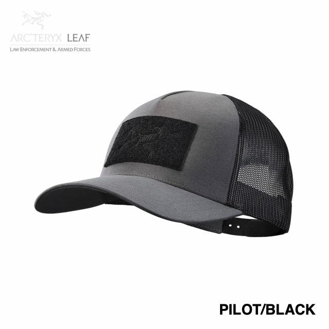 ARC'TERYX LEAF(アークテリクス リーフ)BAC CAP [Gen2][Black][Pilot/Black][メッシュキャップ]