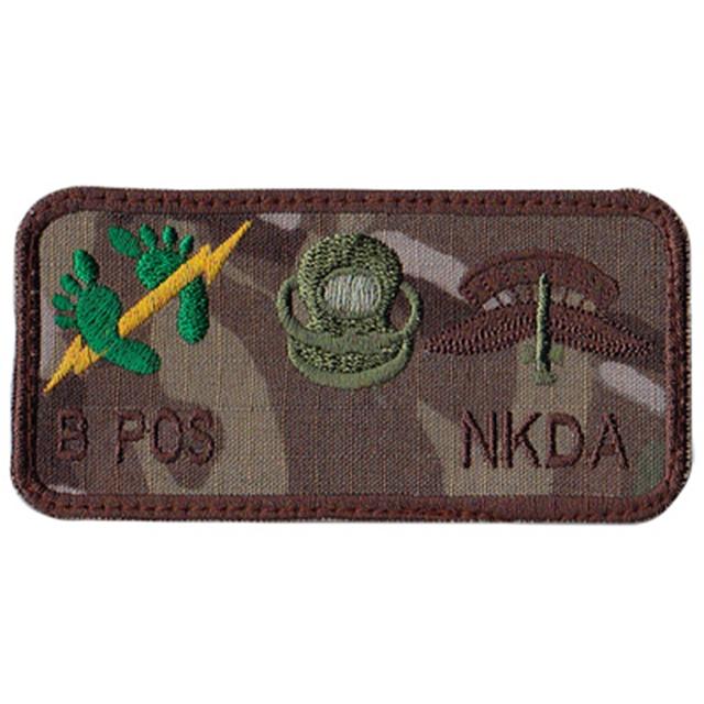 【ミリタリーパッチ】USAF 米空軍 PJ ミッション ブラッドタイプ パッチ マルチカム 320th Special Tactics Squadron PJ Mission Patch MultiCam