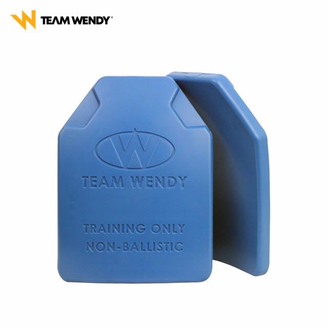 Team Wendy(チームウェンディ)ESAPI NON-BALLISTIC TRAINING PLATE ノンバリスティック トレーニングプレート 2枚組