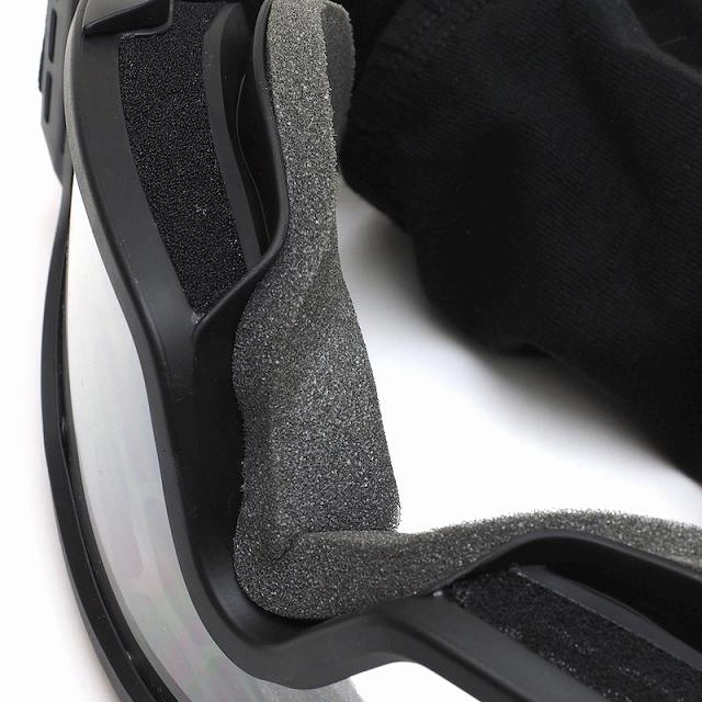 ESS(イーエスエス)Profile NVG Asian Fit [Black][プロファイル NVG アジアンフィット][フローコート 強力防曇レンズ][レンズ2色セット][バリスティックレンズ][薄型 保護ゴーグル][品番740-0123]【送料無料】