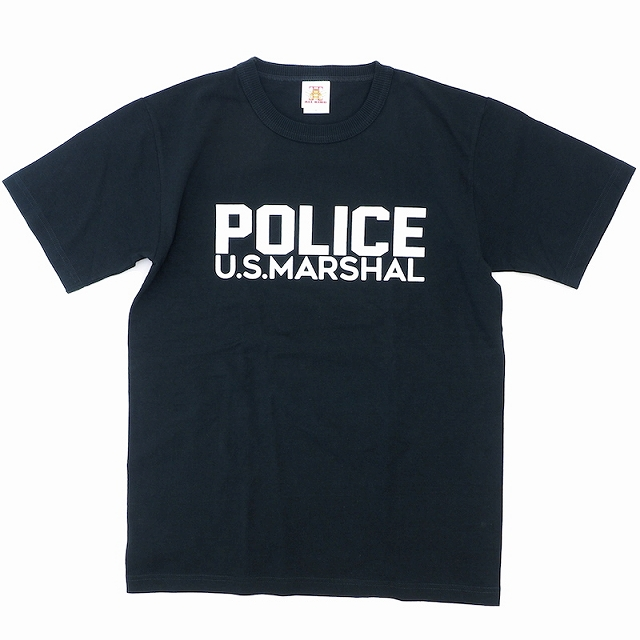 ALL KING(オールキング)POLICE U.S.MARSHAL S/S Tシャツ[3色]