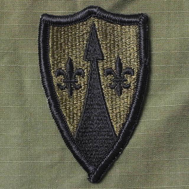 【ミリタリーパッチ】陸軍 欧州戦域支援 Theater Area Support Command, Europe [サブデュード]