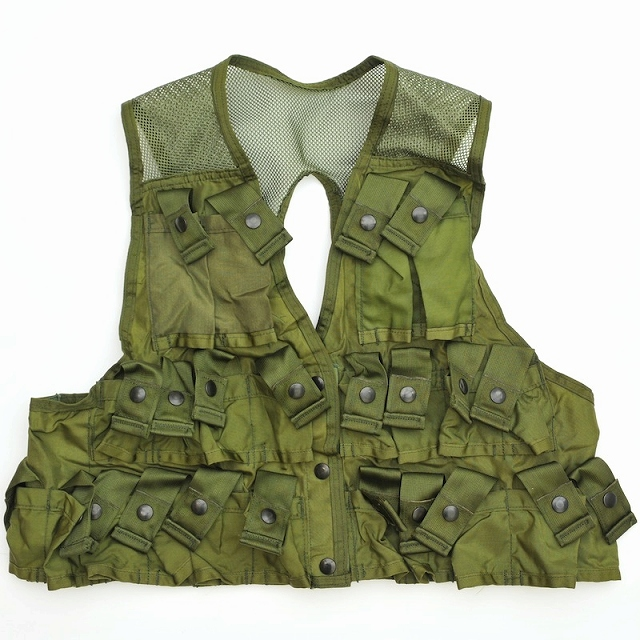 US(米軍放出品)Ammunition Carrying Vest OD アムニッションキャリング ベスト [グレネード ベスト]