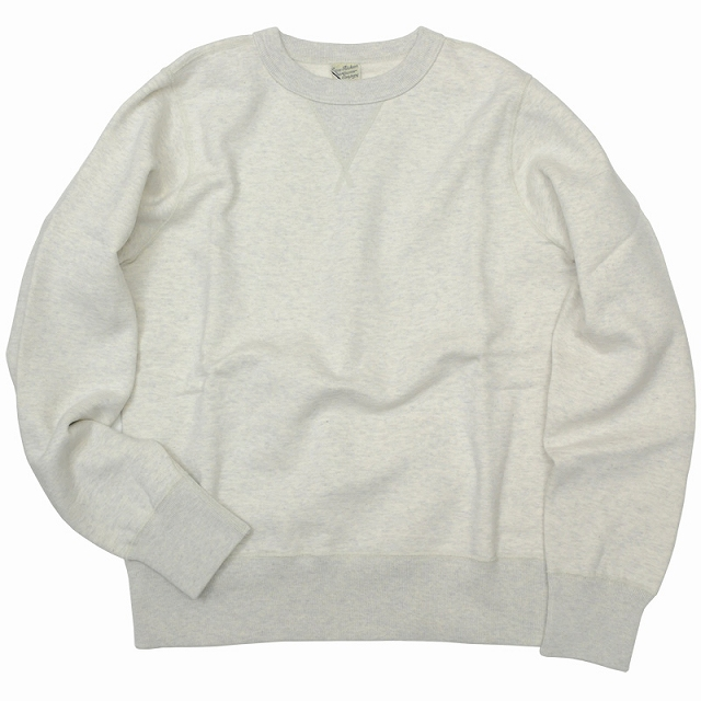 BUZZ RICKSON'S (バズリクソン)Set-In Sleeve Sweat Shirts Oatmeal セットイン スリーブ スウェット シャツ オートミール