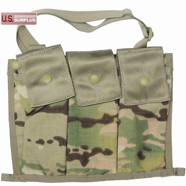 US(米軍放出品)MOLLE II Ammunition Pouch Bandoleer MultiCam [マガジンポーチ][バンダリア]