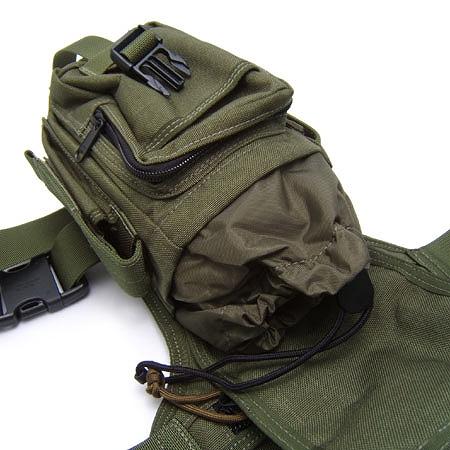 MAGFORCE(マグフォース)Thermite Waistpack [MF-0401][Black、OD Green][テルミットウエストパック][レッグバッグ]