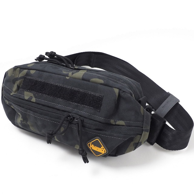 MAGFORCE(マグフォース)City Traveler Waistpack S Black CAMO [MF-3312][シティートラベラーウエストパック S]