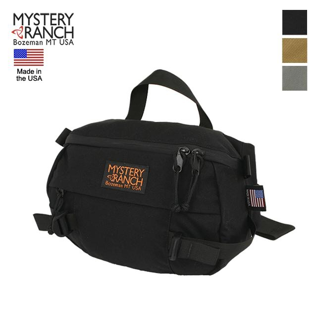 MYSTERY RANCH(ミステリーランチ)Hip Monkey ウエストバッグ [ヒップモンキー][MADE IN USAタグ付き][3色]【送料無料】