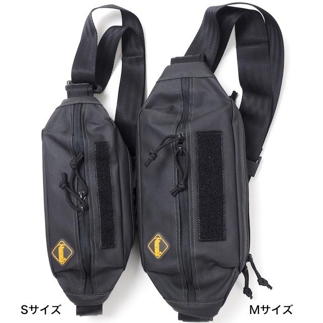 MAGFORCE(マグフォース)City Traveler Waistpack M Black (PVCコーティング) [MF-3313][シティートラベラーウエストパック M]