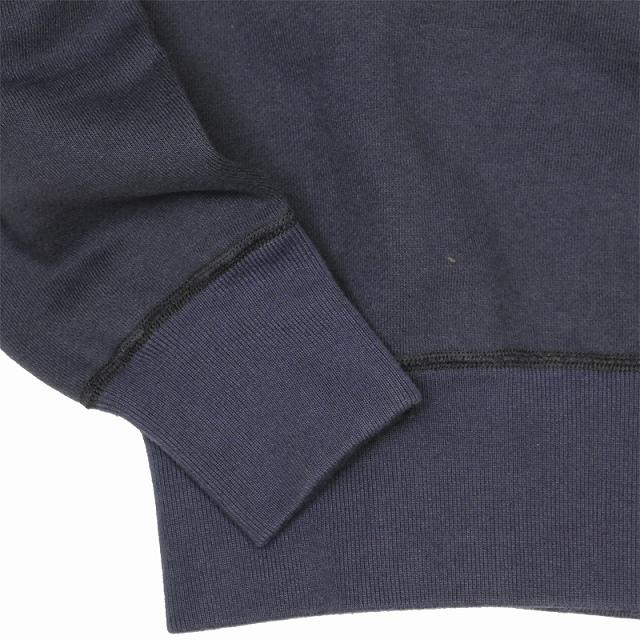 BUZZ RICKSON'S(バズリクソン)セットイン スリーブ スウェット シャツ ネイビー Set-In Sleeve Sweat Shirts Navy[BR65622]