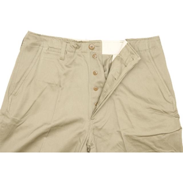 SESSLER(セスラー)Chino Khaki Pants  チノ カーキ パンツ ボタンフライ 1945モデル ビンテージ復刻【中田商店】