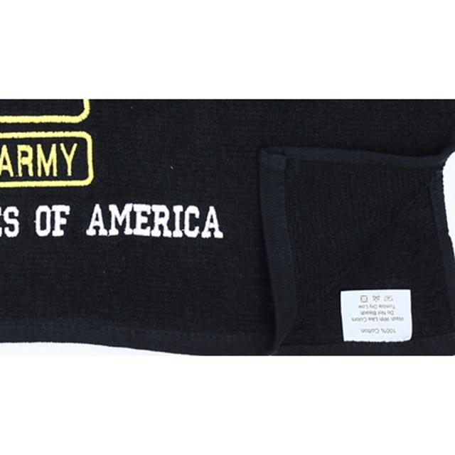 US(米軍放出品)U.S. ARMY トレーニング用バスタオル Black