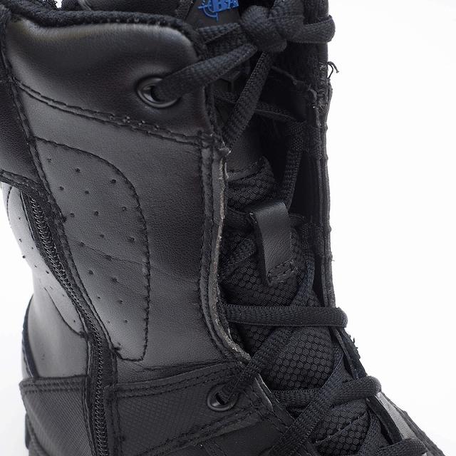BATES(ベイツ) SHOCK-8 SIDE ZIP BLACK [7008] ショック エイト タクティカル ブーツ サイドジップ 【中田商店】