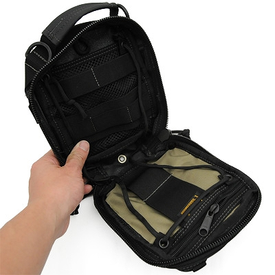MAGFORCE(マグフォース)Tool Bag 5×7 [Black][MF-0226]
