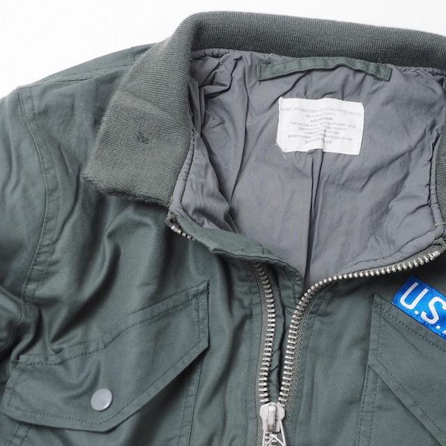 SESSLER(セスラー)CWU-7P フライトジャケット セージ [ビンテージ復刻]【中田商店】
