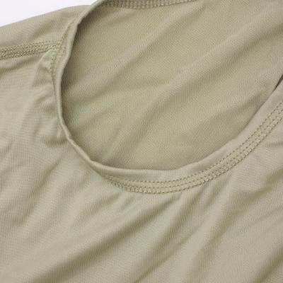 US(米軍放出品)ECWCS GEN-III Level-1 コールドウェザーライトウェイトアンダーシャツ Sand