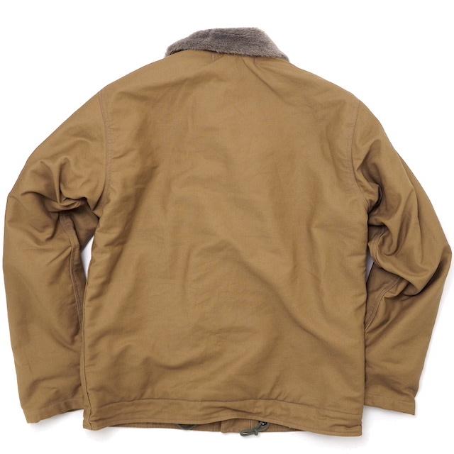 BUZZ RICKSON'S(バズリクソン)USN Type N-1 Deck Jacket Khaki [BR12031]【送料無料】
