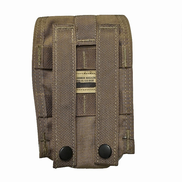 US(米軍放出品)FSBE SR25 DMR マガジンポーチ [Coyote][タンバックル仕様]