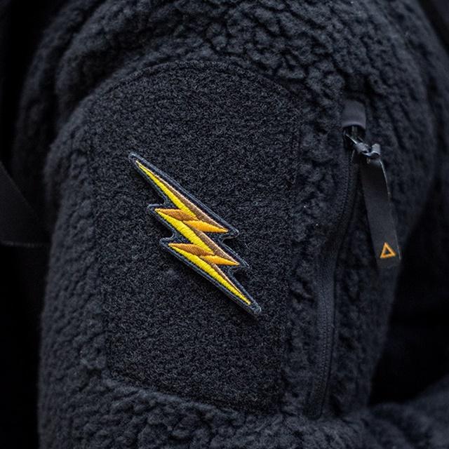 PROMETHEUS DESIGN WERX (プロメテウスデザインワークス) PDW Thunder Flash Morale Patch [フック付き]