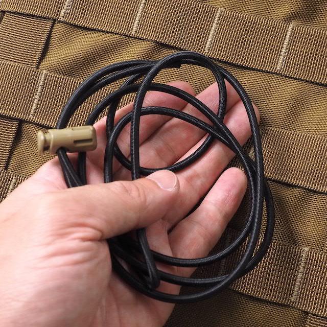 CAPTAIN TOMs ORIGINAL(キャプテントムオリジナル) 多用途 ショックコードキット [3.8mm×120cm][エラスティック][ゴムコード] 【ネコポス対応】