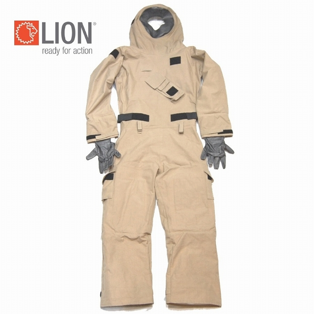 LION MT94 Technical Rescue CBRN Ensemble 化学防護服
