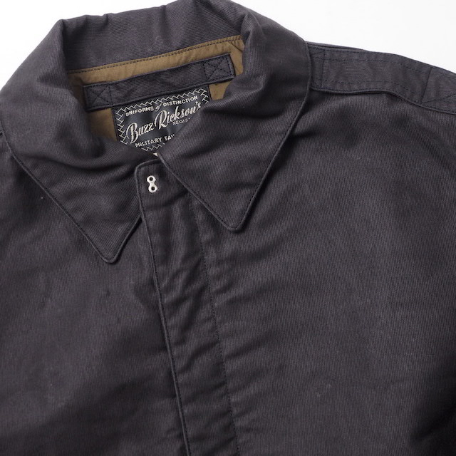 WILLIAM GIBSON(ウイリアムギブソン)TYPE JUNGLE CLOTH BLACK A-2 [BR14683]