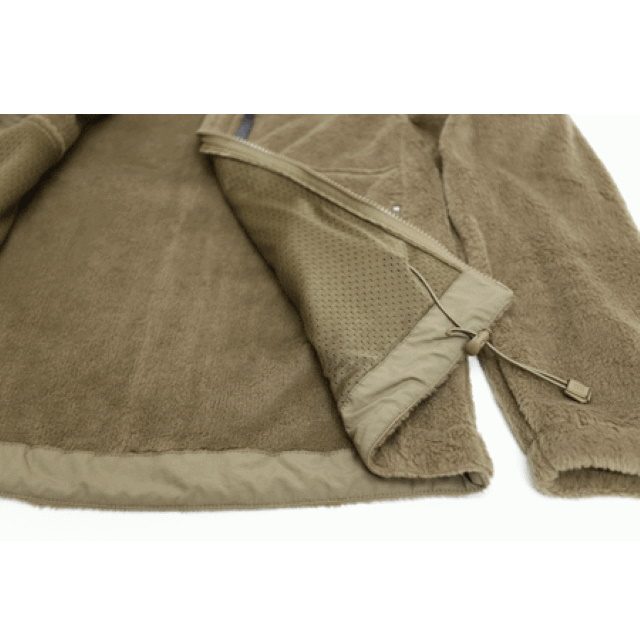 米軍遠征用 MALAMUTE FLEECE JACKET [BAF] [OCP BROWN] 【中田商店】