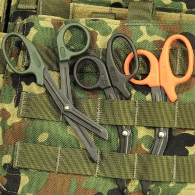 MSM(ミルスペックモンキー) MSM EMT Shears Mini レスキューシザー [Black、OD Green、Orange、Tan][ブラックブレード][安全ハサミ]