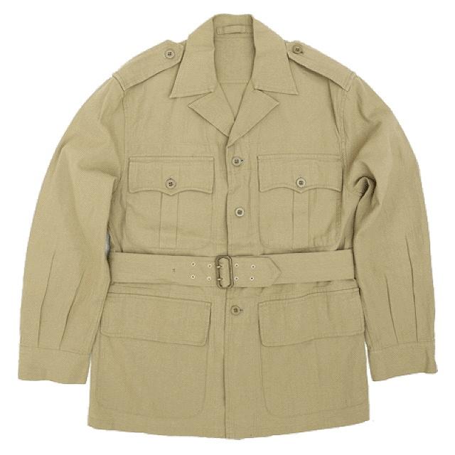 SESSLER(セスラー)イギリス軍 BUSH JACKET 1950's MODEL [ブッシュ ジャケット]【中田商店】