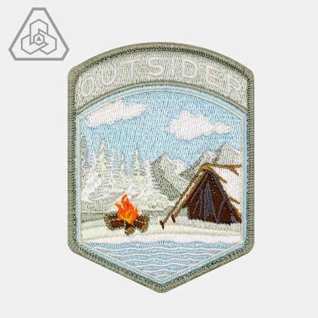 PROMETHEUS DESIGN WERX (プロメテウスデザインワークス) PDW Camp Outsider Winter Flash Morale Patch [フック付き]